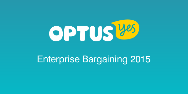 Optus Enterprise Bargaining 2015page