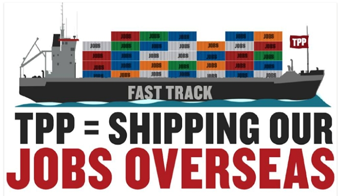 shipping our jobs overseas