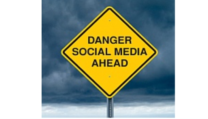 Danger social media ahead
