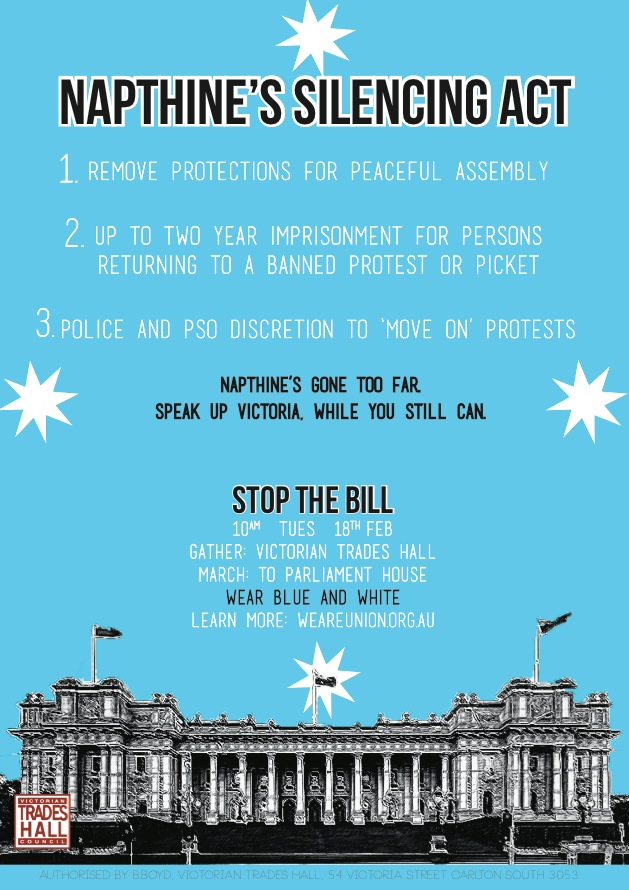Napthine's Silencing Act 02