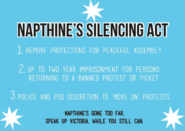Napthine's Silencing Act