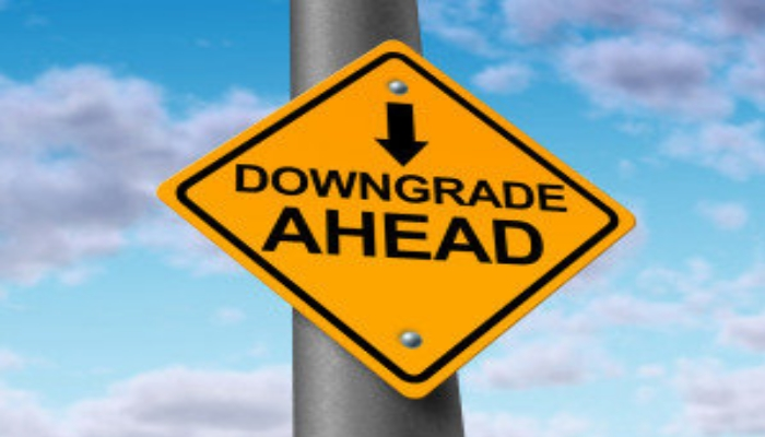 downgrade ahead