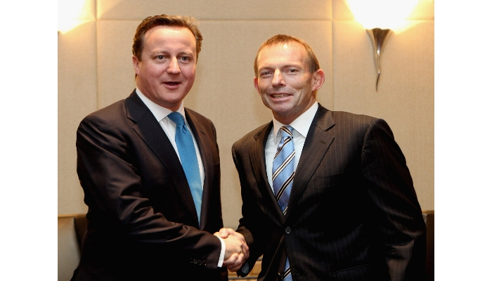 Leaders UK and Australia